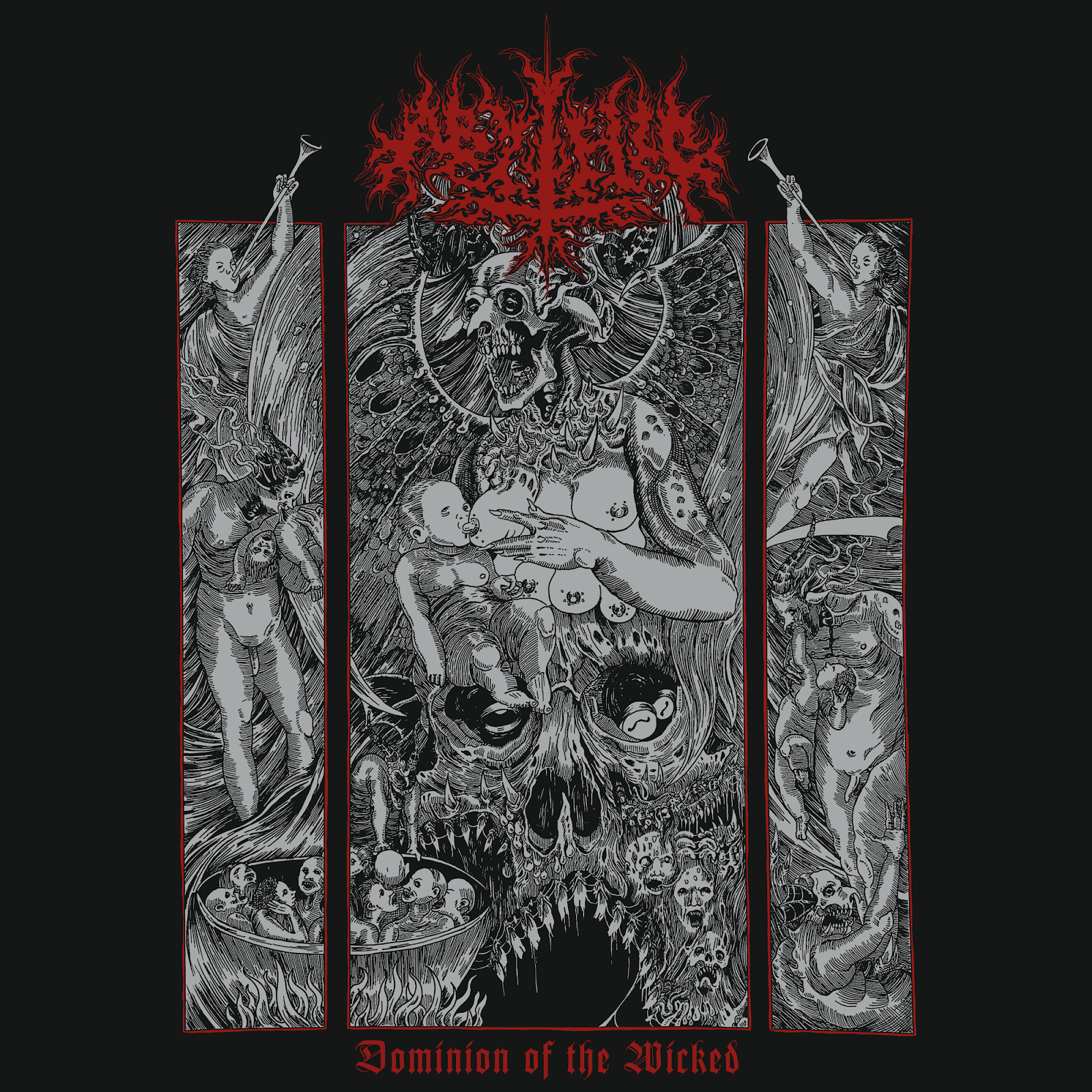 Abythic - Dominion Of The Wicked LP/CD - Press Release + Stream.