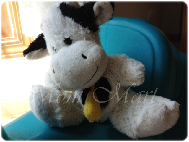 Stuffed Cow Lovey
