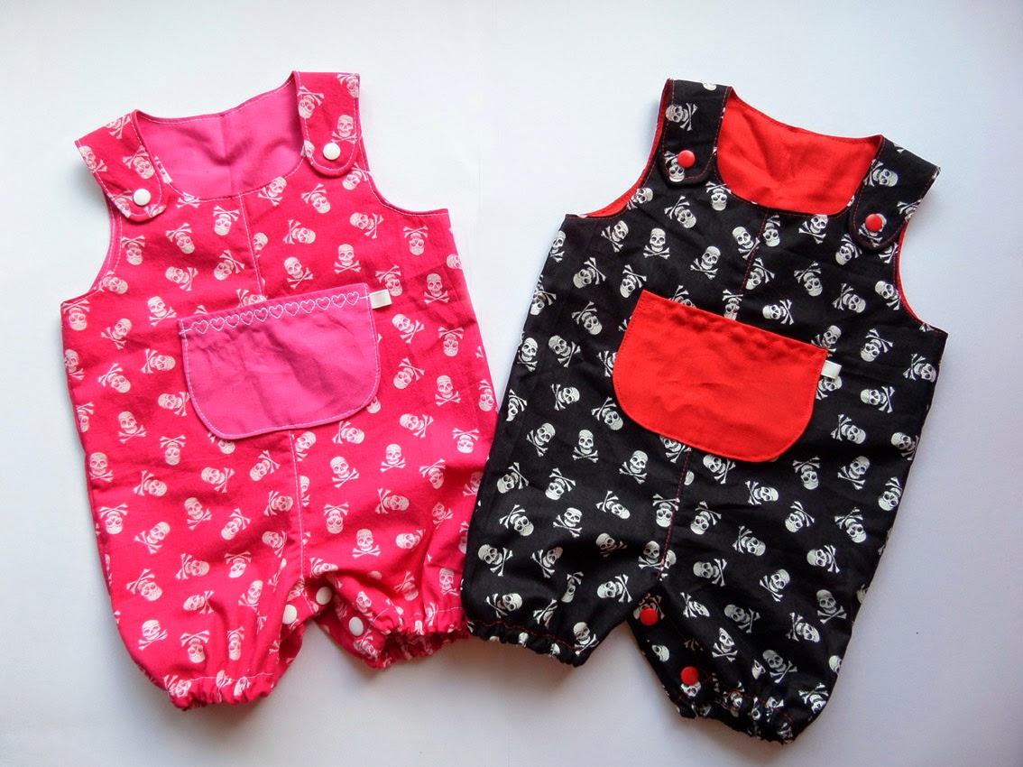[Nähen] Baby Overalls