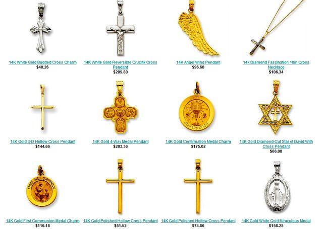 Patron Saints Jewelry: Religious Jewelry by JewelryAdviser.com
