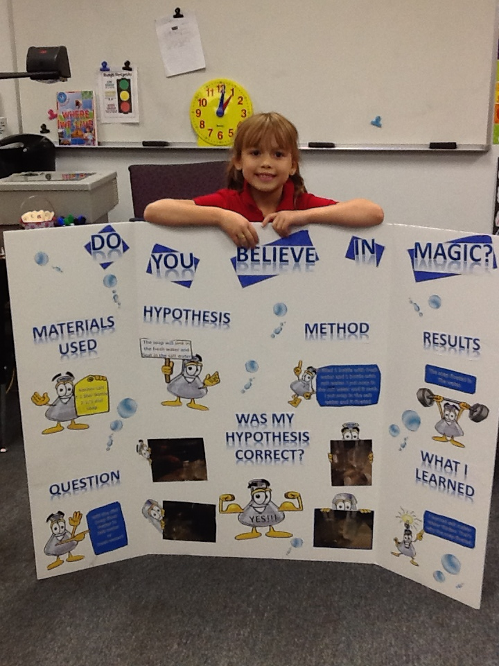 Ms. Reeve's Second Grade: Science Fair Projects