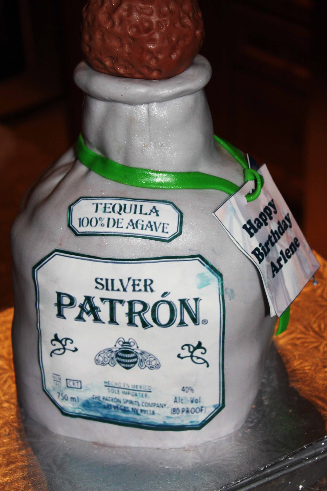 patron birthday cakes