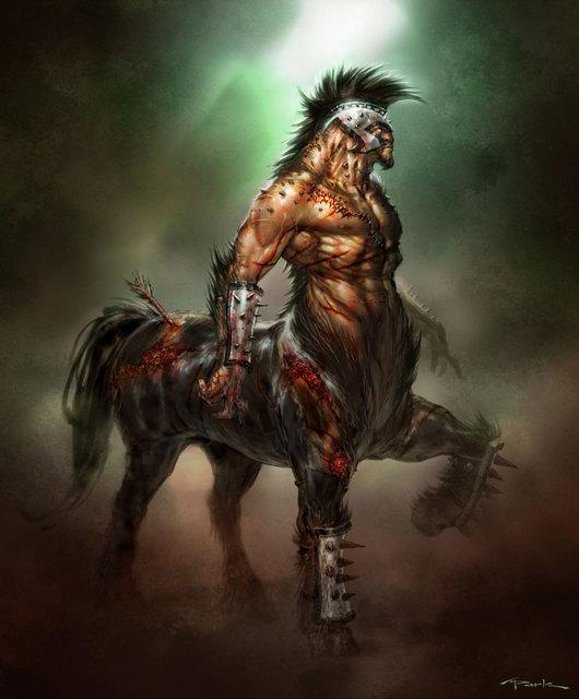 God Of War O Blog Personagens Mitolgicos Centauros