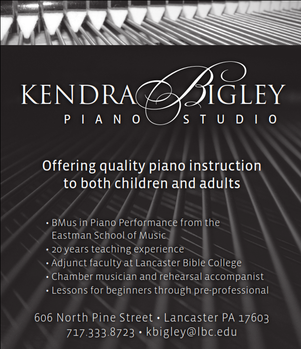 Kendra Bigley Piano Studio