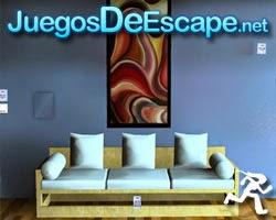 Juegos de Escape Red Painting Room Escape