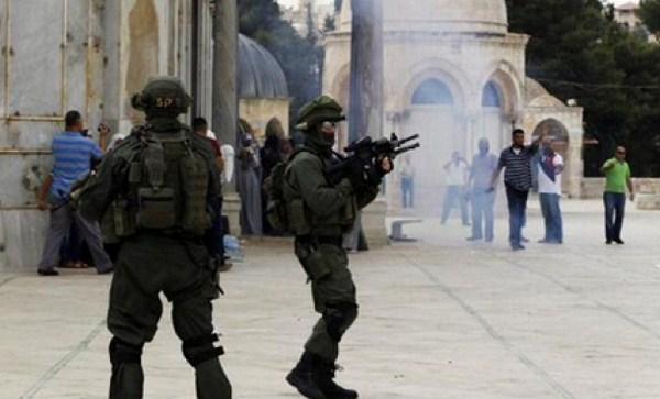 Lagi, Pagi ini Penjajah Israel Serang Masjid Al-Aqsha, Mushola Al-Qibli Terbakar