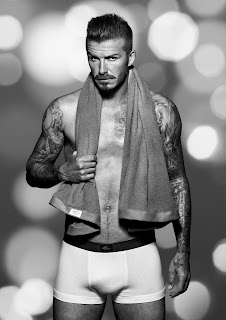 David Beckham bodywear collection for holiday 2012