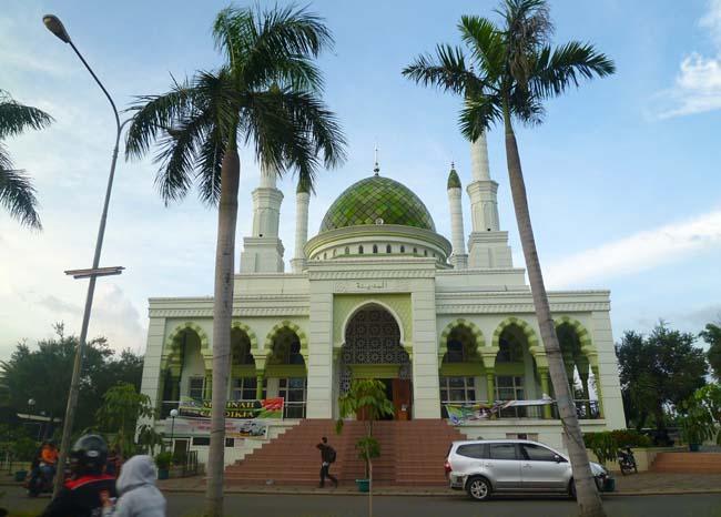 La mezquita de Jakarta