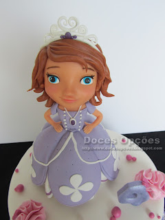 sofia princess disney sugar paste