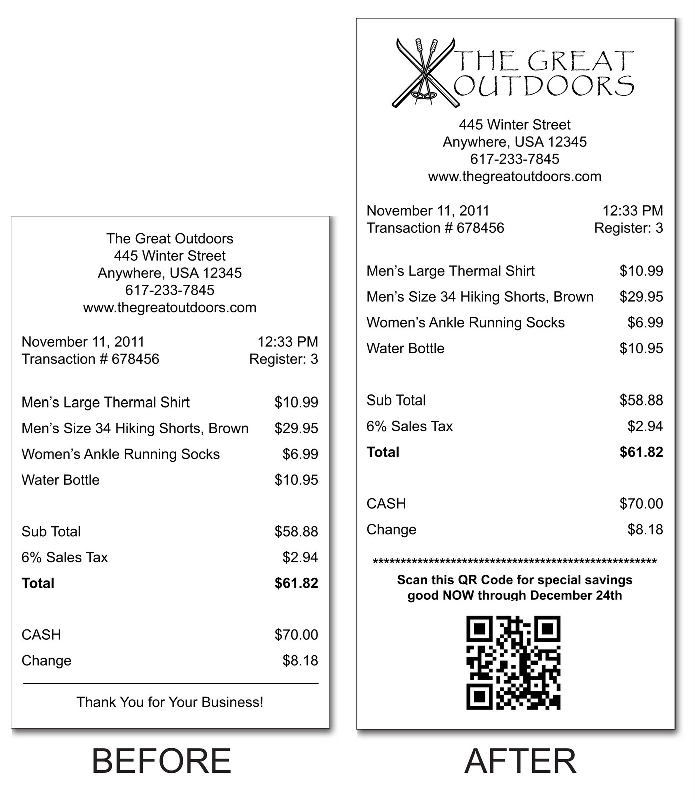 Point of Sale Supplies Blog: QR Codes On Receipts