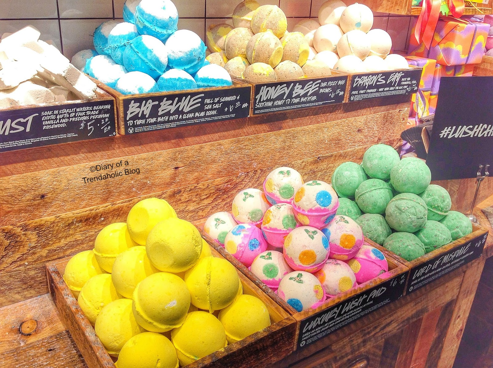 Diary of a Trendaholic : LUSH Christmas Collection & Gift Ideas!