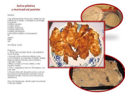 Piletina u marinadi od pavlake,m recept