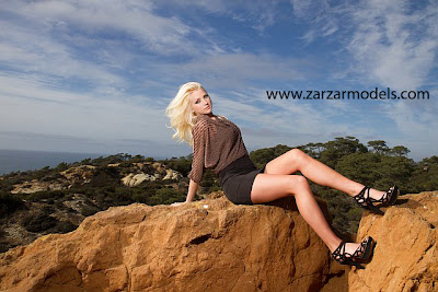 ZARZAR MODELING AGENCY Congratulates Beautiful San Diego Blonde Model Brooke Rilling For Her National Magazine Editorial For World Wrestling Entertainment Magazine As The Superfan Model Of The Month For May 2012