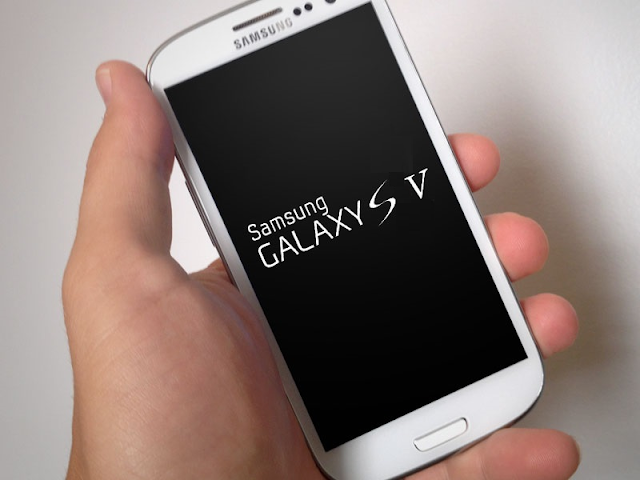 Samsung Galaxy S5 mock-up