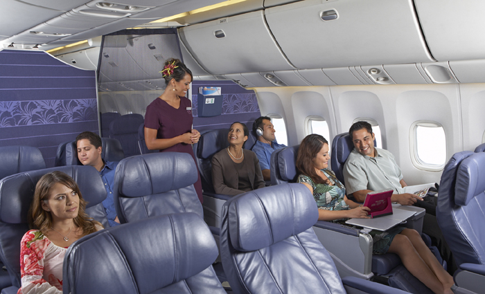 gallery for hawaiian airlines economy class