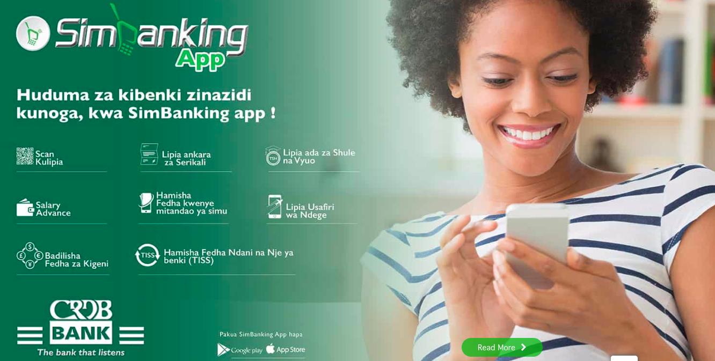 CRDB Bank SimBanking APP