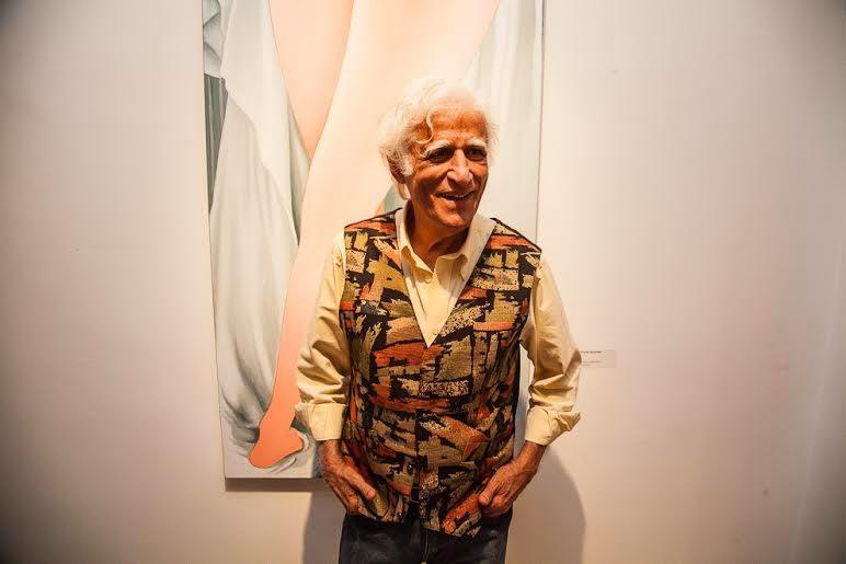 Ziraldo recebe homenagem no encerramento de sua exposição na Galeria Scenarium