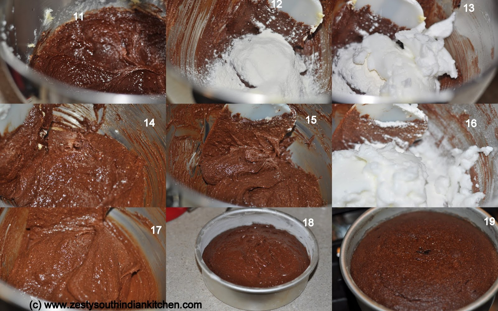 Leave the cake in pan for 10 minutes remove and cool it in rack for 2 ...
