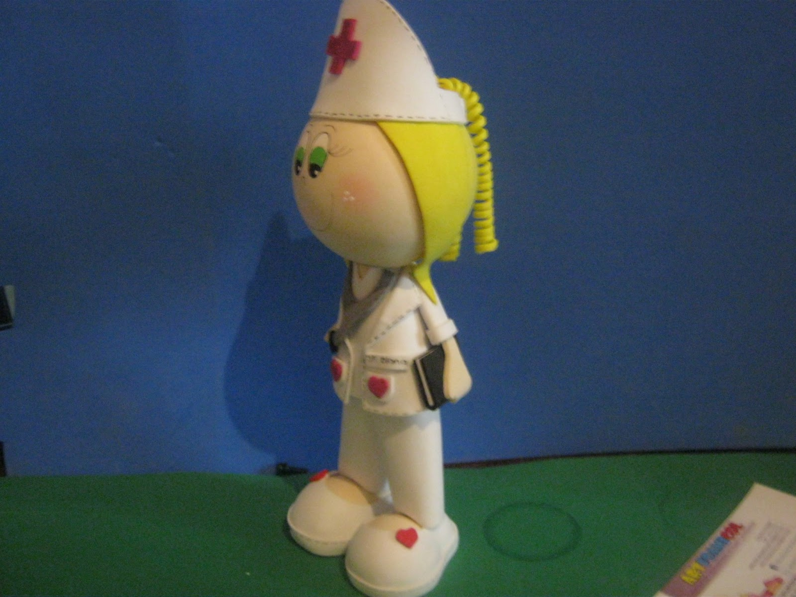mis fofuchas 2013 artfoamicol fofuchas enfermeras en