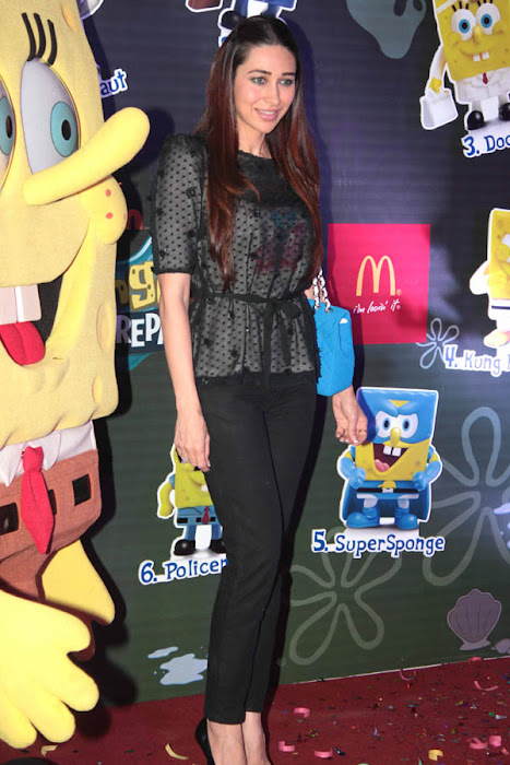 karisma kapoor launches spongebob squarepants happy meal latest photos