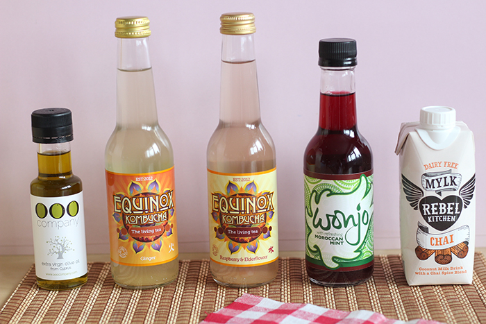 Bloggers Love Food and Drink Festival Reviews Olive oil kombucha wonga coconut