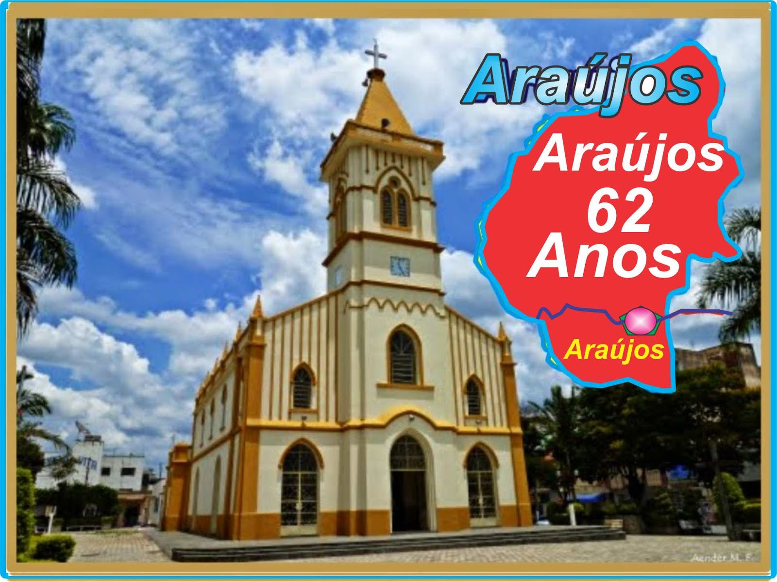 Igreja Matríz de Araújos - Minas Gerais