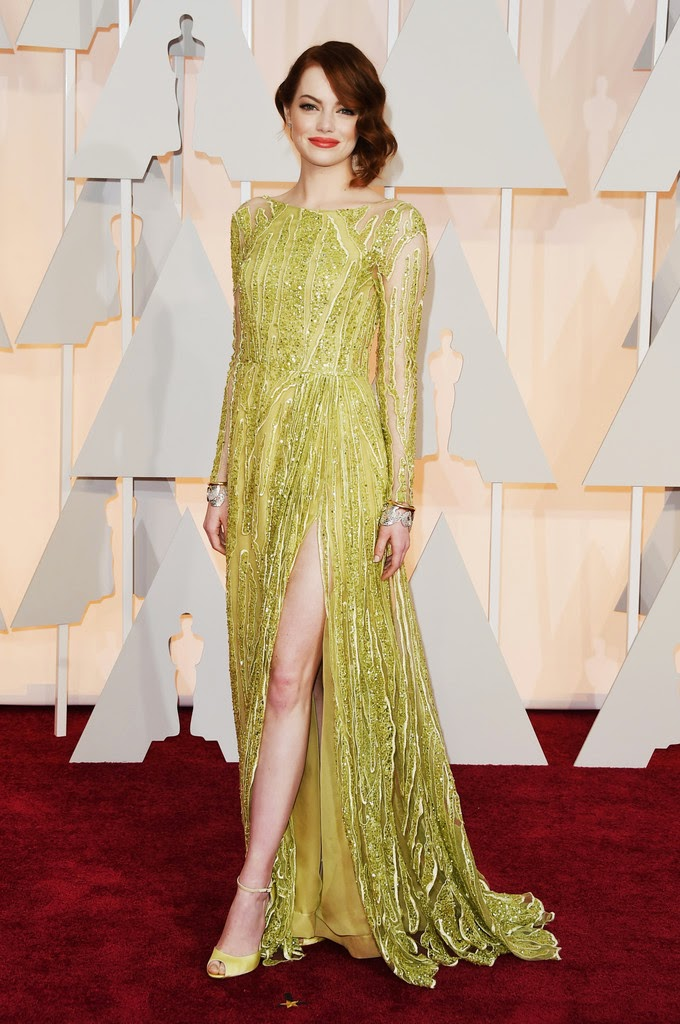 Actress, Singer: Emma Stone - 87th Annual Academy Awards in Hollywood