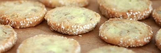 Walnuss-Sesam-Kekse