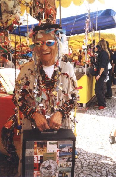 Ifigênia Rolim Fotografada em 2001
