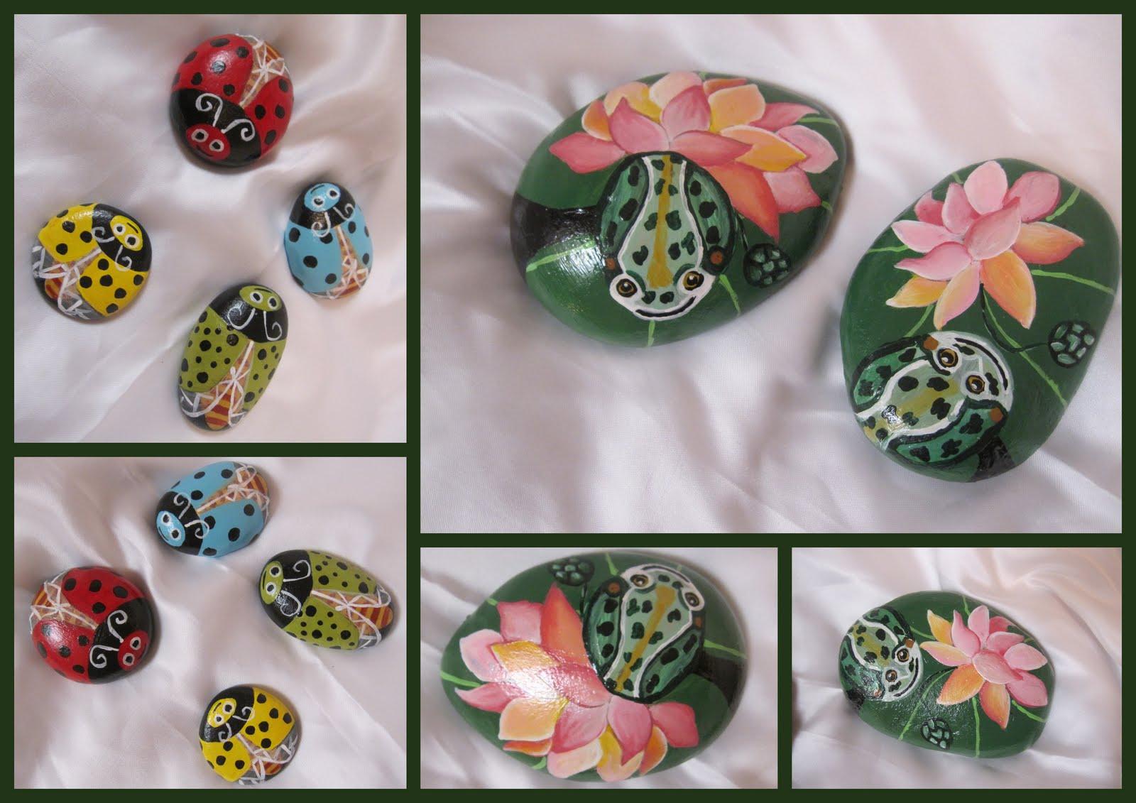 Lasmanualidadesdesule mas piedras pintadas - Piedras de rio pintadas ...