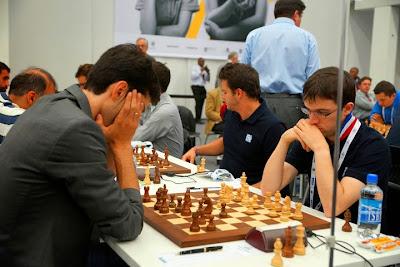 Le Français Maxime Vachier-Lagrave a battu le Géorgien Baadur Jobava lors de la ronde 7 - Photo © site officiel