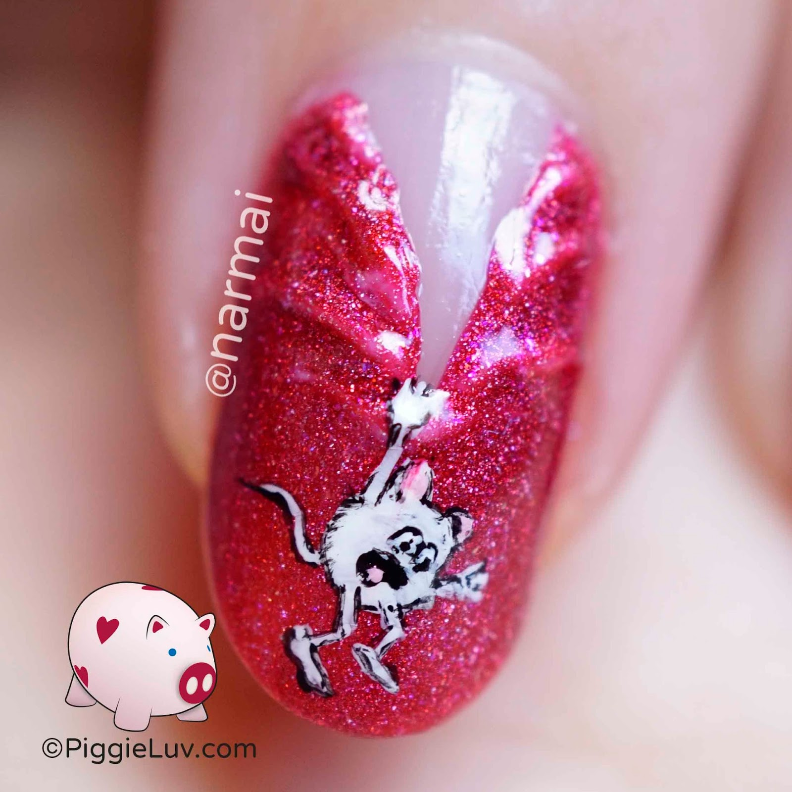 Piggieluv hanging on nail art ft picture polish scarlett hanging on nail art ft picture polish scarlett prinsesfo Images