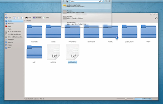 HUD KDE appmenu runner screenshot