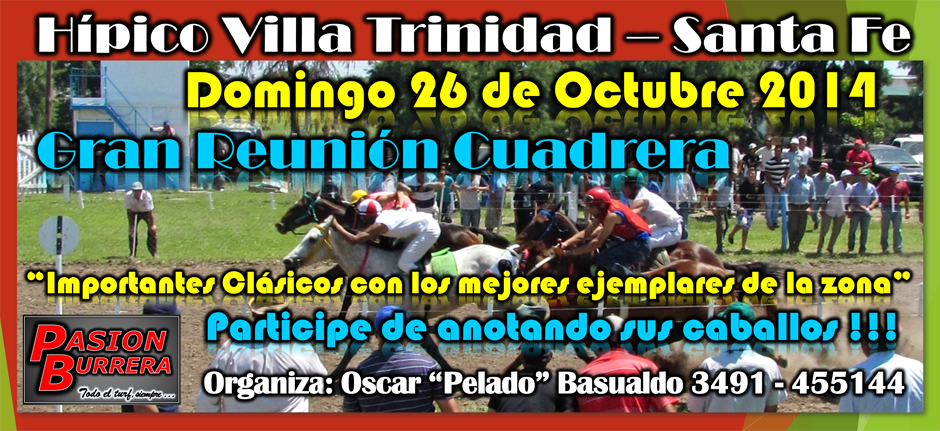 VIILA TRINIDAD - 26 DE OCTUBRE