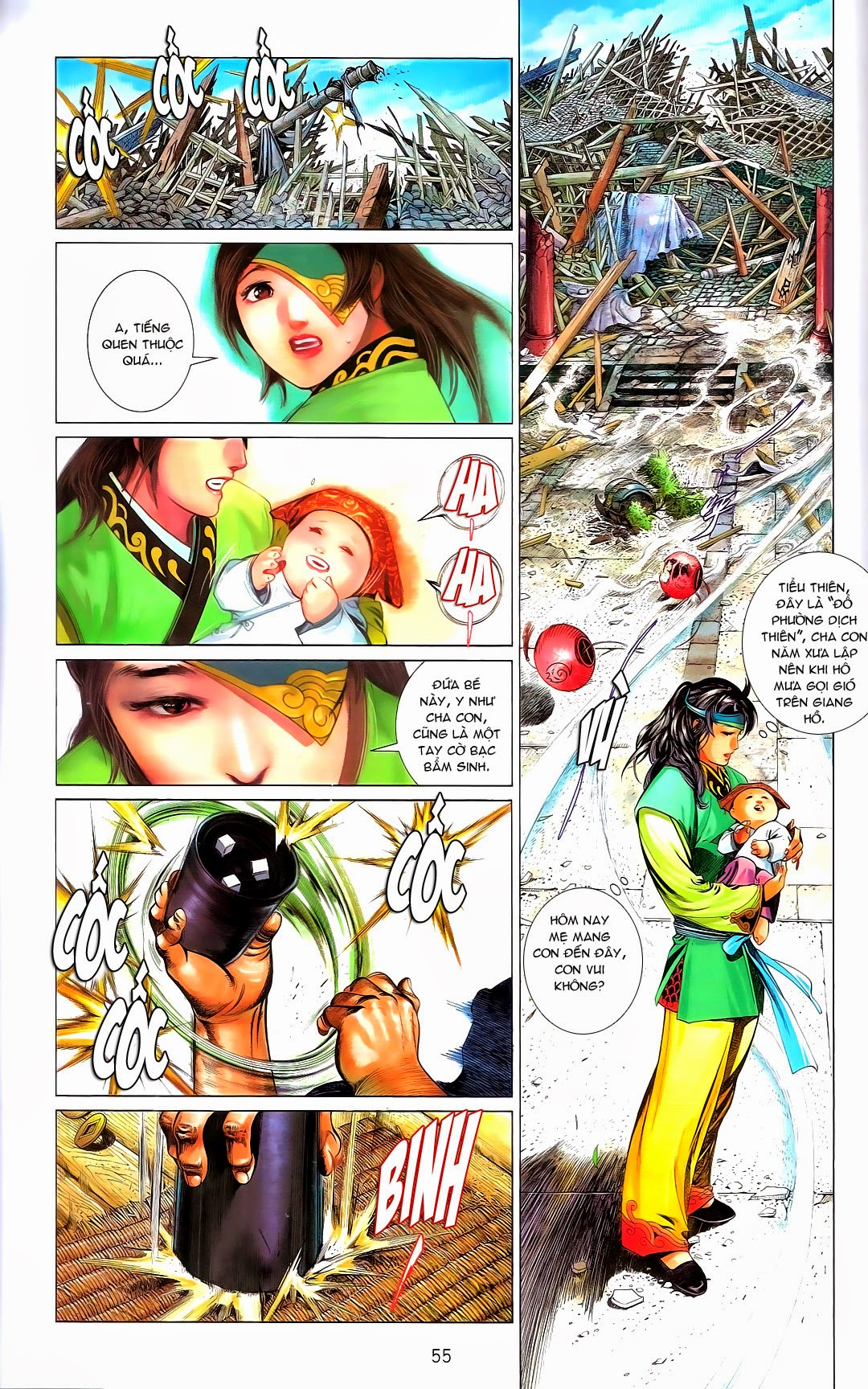 Phong Vân chap 670 Trang 55 - Mangak.info