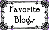 My Favorite Blogs