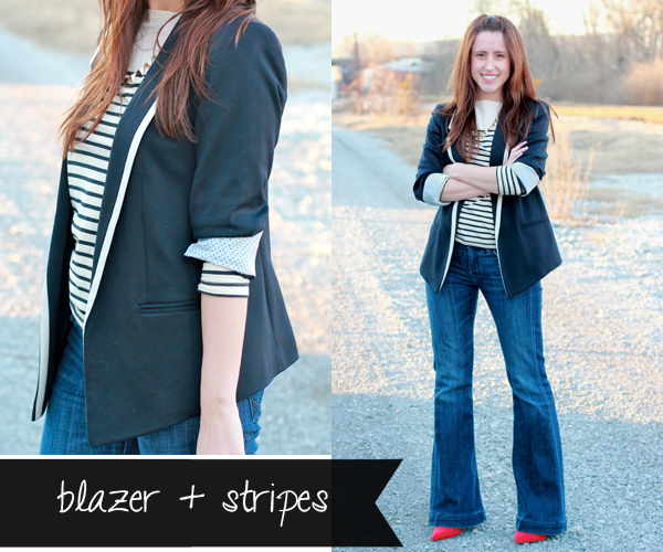 Here & Now: 1 Blazer, 4 Ways - Casual Friday | #WearWallisFashion
