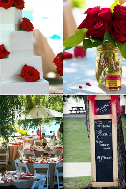 red rose decors