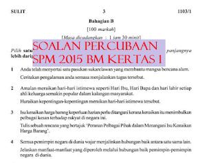 trial BM SPM 2015 dan skema