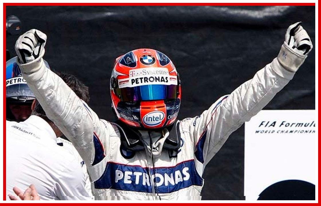 Robert Kubica Formula 1 story