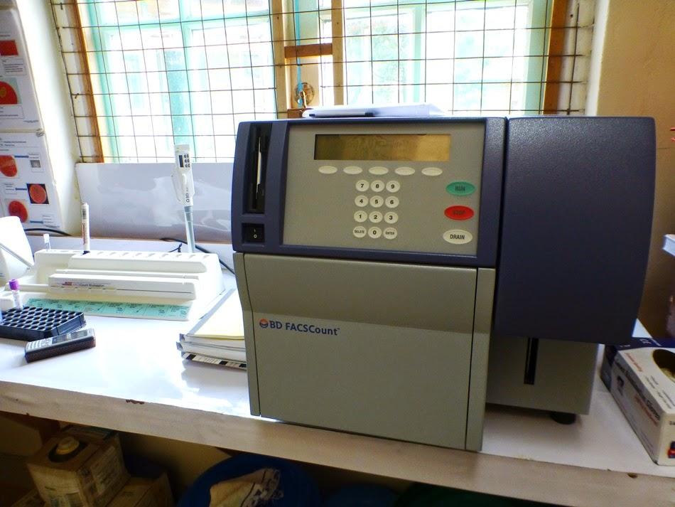 CD4 machine
