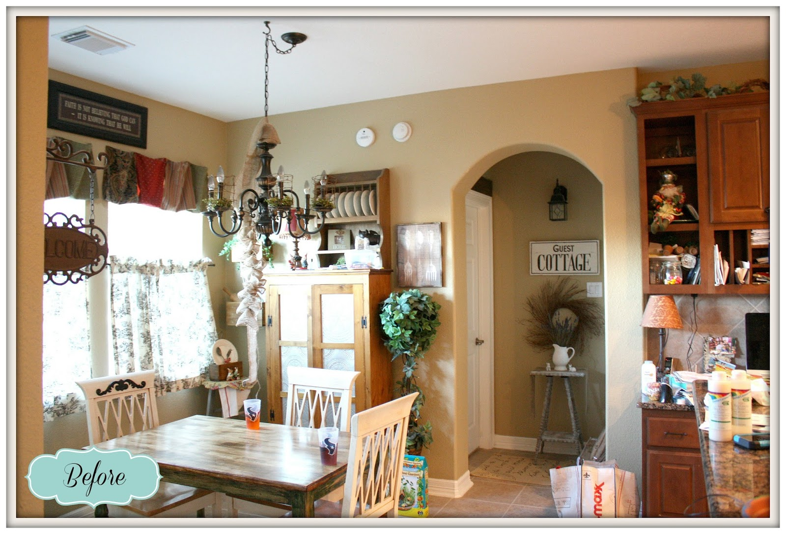French Farmhouse Kitchen Kitchen Makeover DIY Kitchen French Country French  Country Kitchen