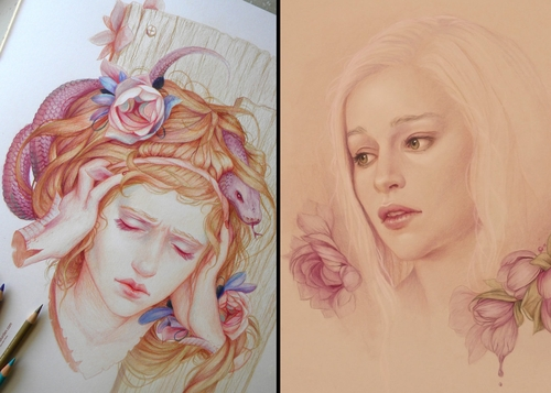 00-Jennifer-Healy-Traditional-Art-Color-Pencil-Drawings-www-designstack-co