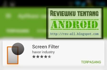 Ikon aplikasi SCREEN FILTER - pelindung mata berukuran kecil untuk android (rev-all.blogspot.com)