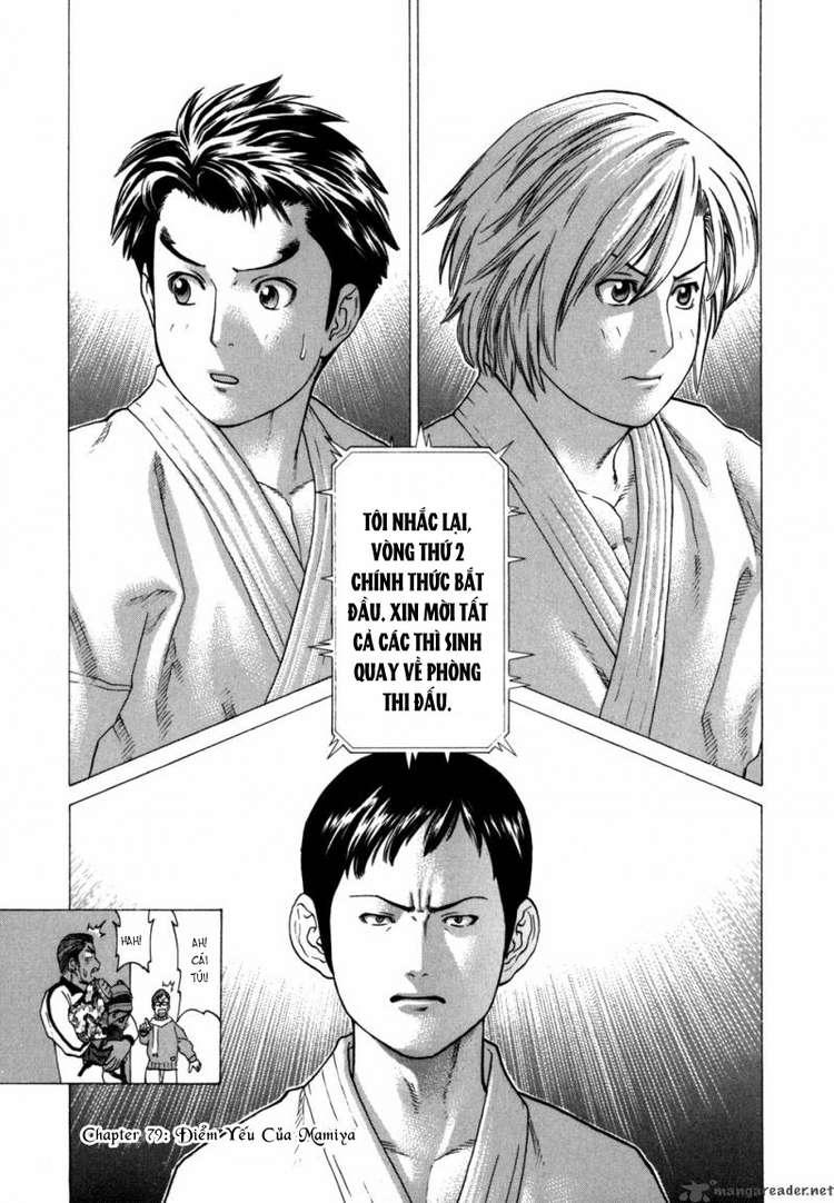 Karate Shoukoushi Kohinata Minoru chap 79 Trang 18