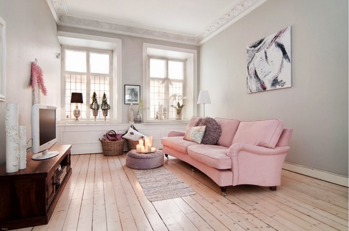 My bohemic home: god fortsättning och rosa soffa