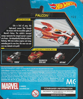 Back of 2014 Hot Wheels Falcon