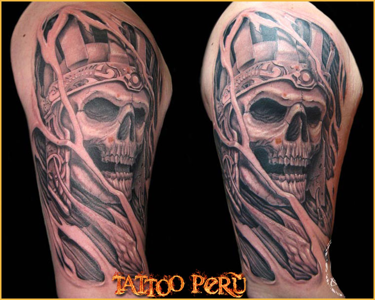 ¿En que parte del Cuerpo se puede Tatuar?. 01_craneo_de_un_faraon