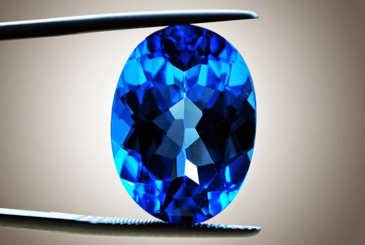 Batu topas biru, Blue Topaz