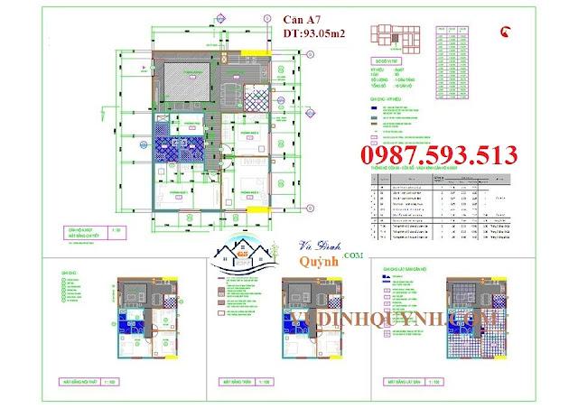 Căn A7 dự án 122 Vĩnh Tuy